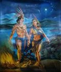 Leyenda del popocatepetl e iztaccihuatl